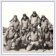 La legión en el Sahara.