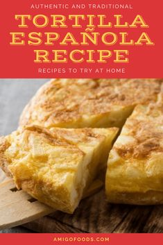Tortilla Española is truly a Spanish tapas classic. You will not find this excluded from any true Spanish bar or restaurant menu. Spanish tortilla is simply a Tapas Ideas, Tapas Recipes, Cocktail Recipes, Best Spanish Food, Spanish Tapas, Latin Food, Best Appetizers, Dinner Dishes, Menu Restaurant