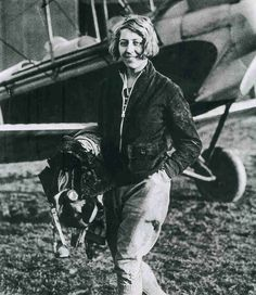 In 1930, Amy Johnson  flew her single engine Gipsy Moth biplane from London to Darwin.