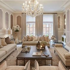 Home Decorating Style 2019 for Formal Living Room Decor, you can see Formal Living Room Decor and more pictures for Home Interior Designing 2019 at Best Home Living Room. Elegant Living Room, Elegant Home Decor, Formal Living Rooms, Elegant Homes, Living Room Modern, Interior Design Living Room, Home And Living, Living Room Designs, Luxury Living Rooms