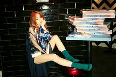4Minute 4Minute World: 5th. Mini Album (2014.03.17) 4Minute's Ji Yoon