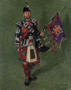 Pipe Major Gavin Stoddart Royal Highland Fusiliers
