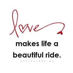It sure does! What a beautiful ride it is when I am with you :)