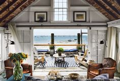 I think I need a beach house just like this for my retirement home, don't you!!!!!  P Town Beach Cabin