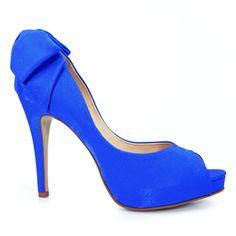 Sapato de Noiva Peep Toe Royal Laura Porto