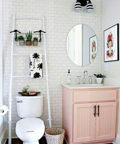 Charmant Ƹ̴Ӂ̴Ʒ Rose Poudré : La Salle De Bain Se Refait Une Beauté Ƹ̴Ӂ̴Ʒ