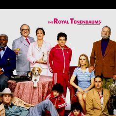 The Royal Tennenbaums, haha so funny in an odd way.