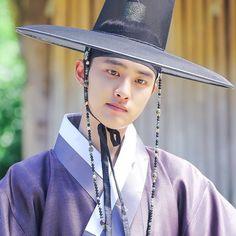 [Drama 100 Days My Prince / Hundred Days' Husband, 백일의 낭군님 Korean Hanbok, Exo Korean, Korean Drama, Kaisoo, Kyungsoo, Chanyeol, Do I Love Him, Purple Suits, Best Kpop
