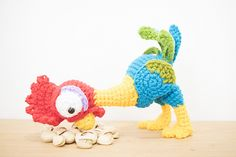Ravelry: Amigurumi Heihei pattern by Sweet N' Cute Creations