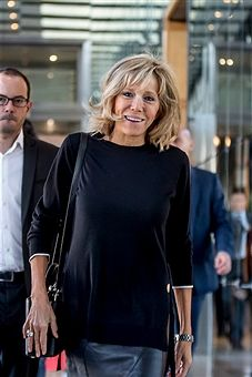Image result for brigitte macron fashion