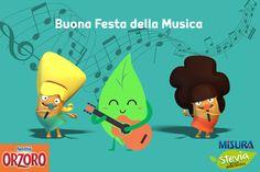#Buonumore, #dolcezza, una chitarra e tanto ritmo: Buona Festa della Musica da #Orzoro e Misura Stevia!