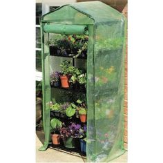 Gardman 7610 4-Tier Mini Greenhouse by Gardman. $32.00. Metal tubular frame. 2 feet 3-inch long by 1 foot 6-inch deep by 5 feet 3-inch high. Reinforced pe cover. Sturdy tubular push-fit frames. Roll-up zipped doors for easy acess. Assembled in minutes without tools.. Save 46% Off!