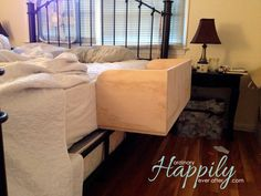 DIY Co-Sleeper @ Ordinary Happily Ever After