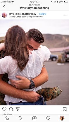 Cute Couples Goals, Couple Goals, Soldiers Coming Home, Marine Bases, Military Homecoming, Army Love, Senior Pictures, Relationship Goals, Families