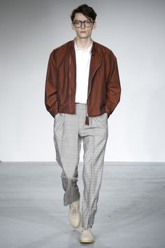 E. Tautz Spring 2018 Menswear Fashion Show Collection