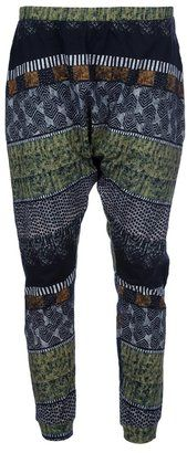 ShopStyle: Henrik Vibskov Printed Harem Trousers