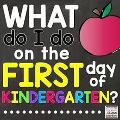 first day, first day of kindergarten