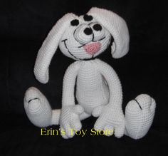 Tricks the Rabbit A Crochet Pattern by Erin Scull by erinscull, $5.00