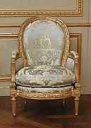Louis Delanois | Armchair (fauteuil) | French, Paris | The Met
