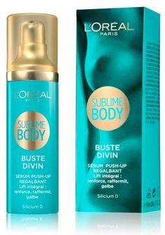 L'Oréal Paris launches a new body range in March 2012 : Sublime Body.