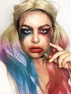 Geri Diaries: FOTD   Harley Quinn