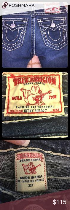 Selling this True Religion Becky Super T on Poshmark! My username is: runnerprincess. #shopmycloset #poshmark #fashion #shopping #style #forsale #True Religion #Denim