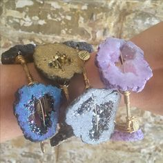Geode Druzy Bourbon and Boweties! The best online selection of Bourbon and Boweties and FREE SHIPPING! www.twocumberland.com