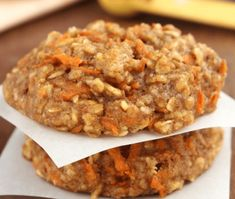 Need clean eating breakfast idea? These skinny Carrot Cake Oatmeal Cookies are easy, yummy and healthy recipe, you must try it.    If you want to start a clean eating these cookies are perfect for beginners. The