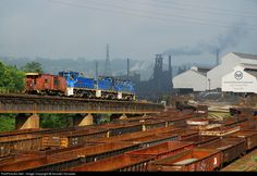 RailPictures.Net Photo: URR 19 Union Railroad EMD MP15DC at Braddock, Pennsylvania by Scooter Hovanec