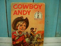 Vintage Book  Cowboy Andy  Random House by honeystreasures on Etsy. , via Etsy.