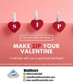 Celebrate the day but don't forget to invest! Wealth Management, Management Company, Money Management, Market Risk, Certified Financial Planner, Win My Heart, Retirement Planning, Bad Timing, Happy Valentines Day