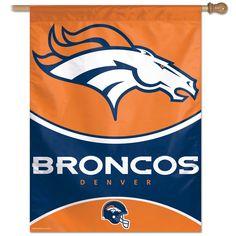 Denver Broncos NFL Vertical Flag (27x37)