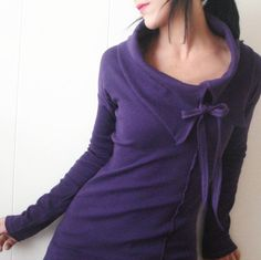 The Night Before   iheartfink Handmade Solid Purple by iheartfink, $165.00