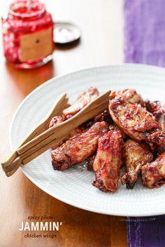 Jammin' Spicy Plum Chicken Wings