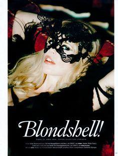 ☆ Claudia Schiffer   Photography by Ellen von Unwerth   For Vogue Magazine Germany   June 2010 ☆ #claudiaschiffer #ellenvonunwerth #vogue #2010