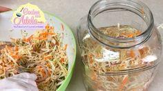 Como hacer curtido para pupusas con jalapeños