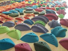 Oh they're so nice. Planetary Holds, at Stone Age Climbing Gym, Albuquerque Rock Climbing Holds, Climbing Wall, Stone Age, Hold On, Walls, Gym, Nice, Awesome, Creative