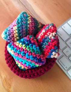 Stress Relief Bean Bags Pocket Size Crochet Hacky Sack Ready to Ship