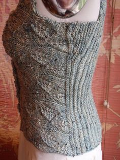 Romantic Victorian Style Sea glass Hand Knit Lace от HOLLYANNHESS Материалы: Merino Wool, Glass Buttons