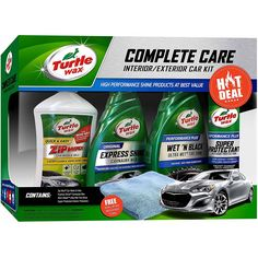 Amazon.com: Turtle Wax 5-Piece Complete Care Kit: Automotive