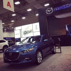 Missing Jamie at the #mazda #mazdaDFW #DFWLovesAutos booth! But @scottyreiss has it covered.