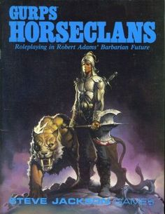GURPS Horseclans – Cover