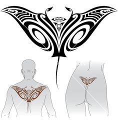 Maori styled <b>tattoo</b> pattern in shape of manta <b>ray</b>. Fit for upper and . Maori Designs, Tattoo Designs, Art Maori, Trible Tattoos, Manta Ray Tattoos, Costume Viking, Stingray Tattoo, Los Mejores Tattoos, Astronomy Tattoo