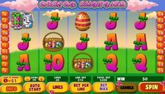 This slot machine game is very #entertaining with colorful animations and images. It can also help you to collect lucrative rewards as you start your #Easter hunt to get cash prizes, multipliers and free games.  In this game, the cute #Bunny acts as the wild and it's the most important symbol. This wild can replace all the other symbols, aside from the #bonus and scatter.