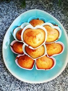 FIT MUFFINKI CYTRYNOWE Z MĄKI RYŻOWEJ - Jemy i nie tyjemy. Kuchnia według Sylwii Sweet Potato, Peach, Gluten Free, Food And Drink, Fruit, Vegetables, Breakfast, Fitness, Cakes