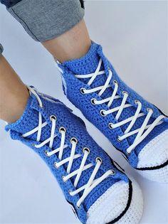 d921bbb0023 Crochet Converse Shoes Blue Authentic DC Comics- Superman Chuck Taylor All  Star Womens Mens Canvas Sneakers Hi Tops