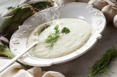 Cream of Artichoke Soup: One of the great things about this elegant soup is the fact that you can probably find all the ingredients in your kitchen, without even having to shop for it. It's a perfect starter to serve when you are getting unexpected guest or are simply in a time squeeze...
