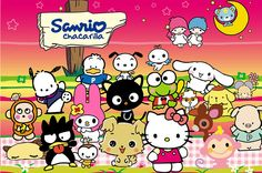 hello kitty, pochacco, chococat, and keroppi. what asian childhood dreams are made of. Sanrio Wallpaper, Hello Kitty Wallpaper, Mobile Wallpaper, Hello Kitty Characters, Sanrio Characters, Sanrio Hello Kitty, Little Twin Stars, Keroppi, Chibi