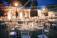 Beautiful Banquet Reception Lighting | Alago Events | Mallorca Wedding & Event Planner
