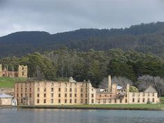 Port Arthur is a former convict colony in Tasmania, Australia. From 1833, until the 1850s, it was the destination for the hardest of convicted British and Irish criminals and rebellious inmates from other prisons. Today, many highly recognizable ruins remain, including the penitentiary, the hospital, the insane asylum, and a church built by the convicts